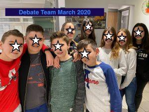 Debate Team 2020